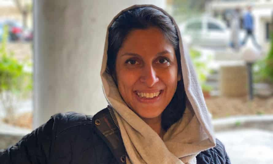 Nazanin Zaghari-Ratcliffe after she was released from house arrest.