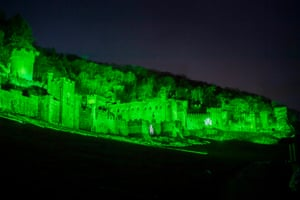 Gwrych Castle in Abergele, North Wales