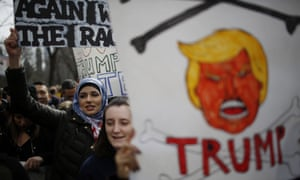 Anti-Trump rally in New York