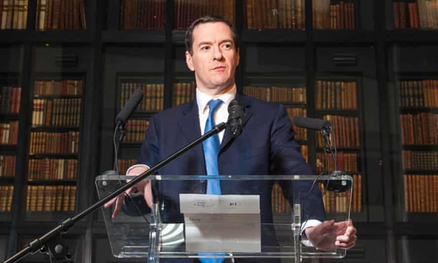 George Osborne: 'I'm not pretending these are easy decisions or that they have no impact.'