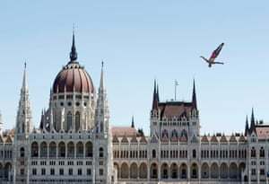 German high diving Iris Schmidbauer competes in world championships in Budapest