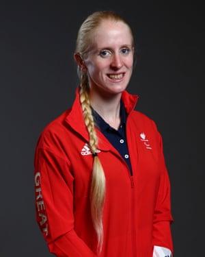 British paralympic triathlete Alison Patrick