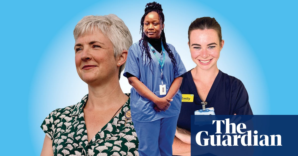 PTSD, long Covid and a paltry pay offer: three nurses on how the pandemic changed them