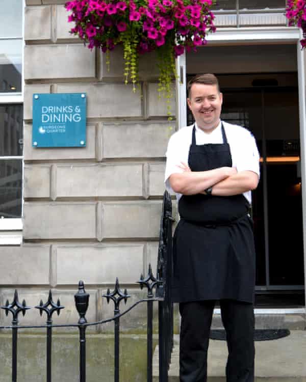 Alan - Chef Ten Hill Place Edinburgh 2021