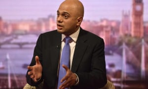 Sajid Javid refused to disclose outcome of cabinet debate on Ofcom proposals when he appeared on the Andrew Marr Show.