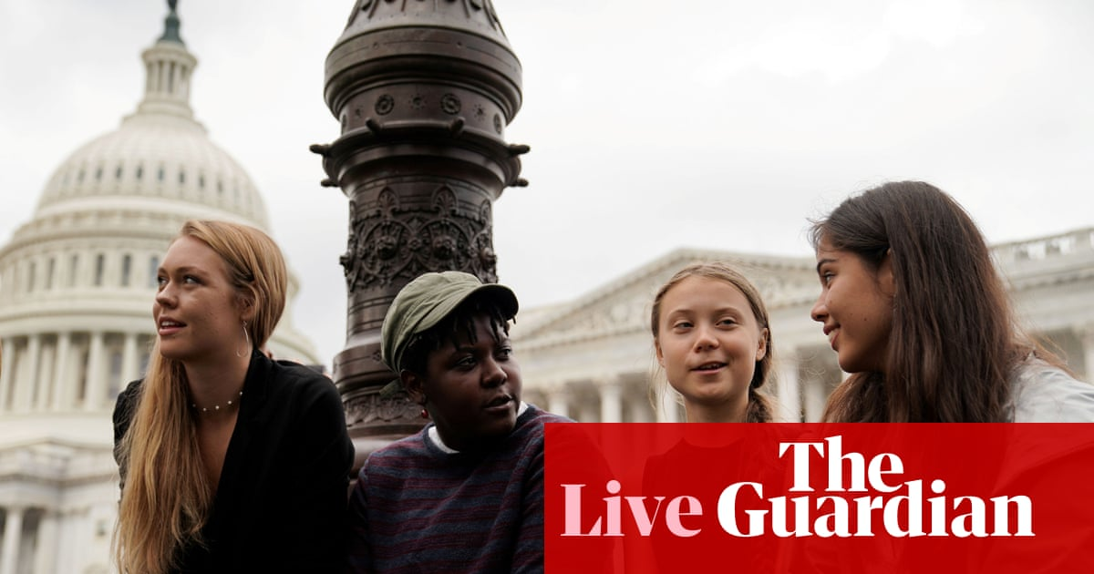 Greta Thunberg tells Congress to 'listen to the scientists' during testimony – live