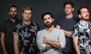 'A tight unit': Jimmy Smith Jack Bevan, Yannis Philippakis, Walter Gerver Edwin Congreave of Foals in 2015.