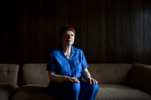 Holocaust survivor Aviva Cohen at home in New York