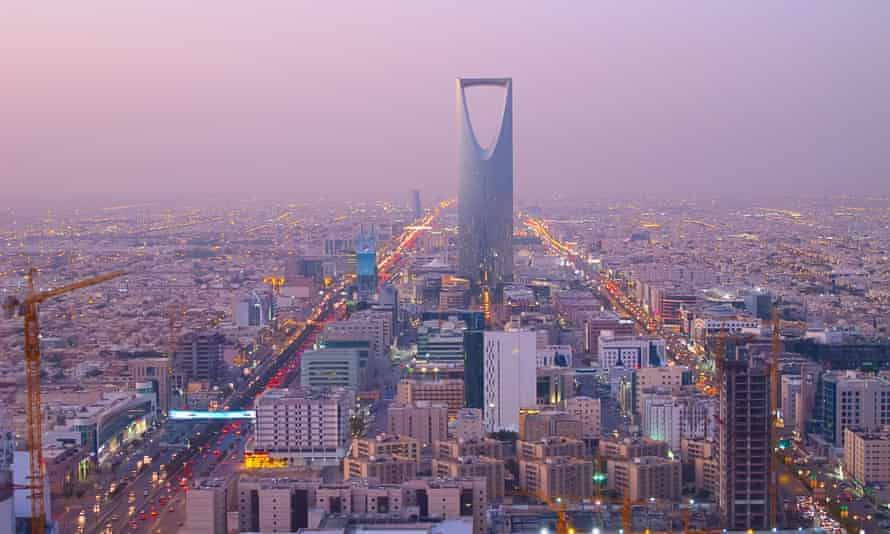 Kingdom tower in Riyadh, Saudi Arabia. The world's largest crude oil producer has made an opaque submission to the UN climate summit with numerous caveats.