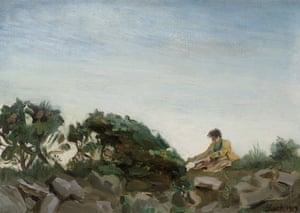 Sketching on the Moors, 1919