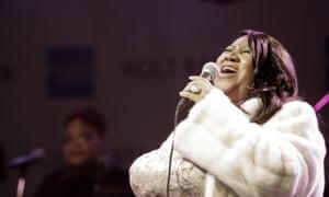 Aretha Franklin in 2007