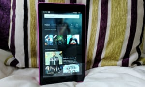 The 8in 720p display is surprisingly good for video