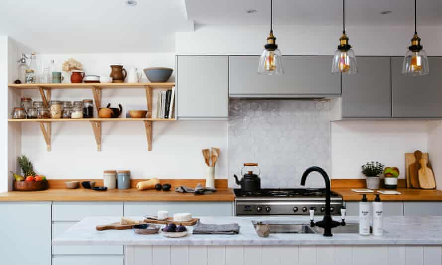 'They have to be items I'd want in my home': Mathieson's kitchen.