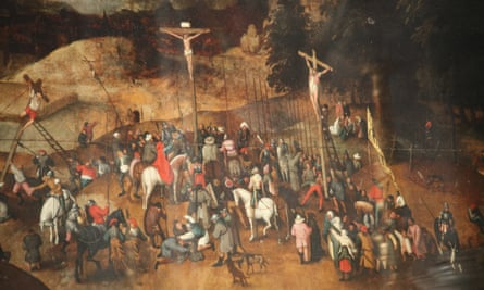 The Crucifixion by Pieter Brueghel the Younger