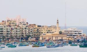 The port of Alexandria today.
