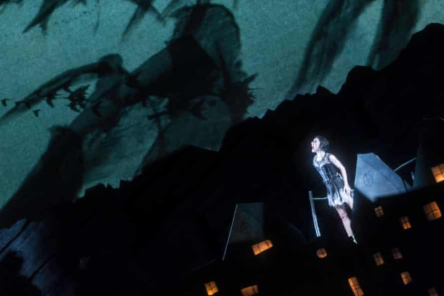 Wayne McGregor's Raven Girl, with Sarah Lamb.