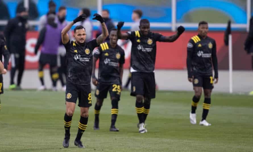 Columbus Crew beat New England Revolution on their way to this season's final