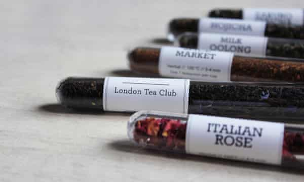 Tea from the London Tea Club.
