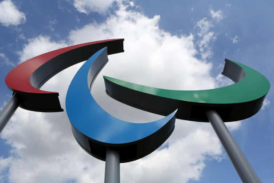The Paralympic equivalent to the Olympics' five rings is the three 'agitos'.