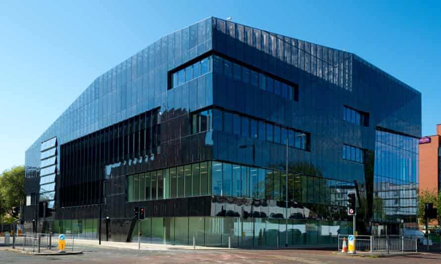 National Graphene Institute building in Manchester.