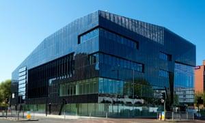 The £61m Osborne-backed National Graphene Institute in Manchester.