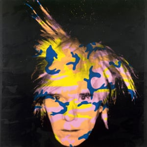Andy Warhol Self Portrait no.9 , 1986 National Gallery of Victoria, Melbourne Purchased through The Art Foundation of Victoria with the assistance of the National Gallery Women's Association, Governor, 1987 © Andy Warhol/ARS, New York. Licensed by Copyright Agency, Australia