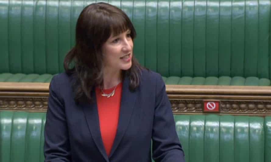 Rachel Reeves in the Commons