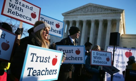US supreme court California Teachers Union fees