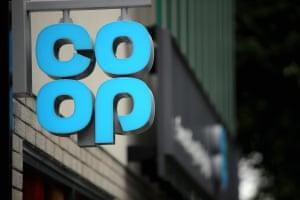 Opening of new Co op in Bryn Road, Swansea, Wales, UKExterior view