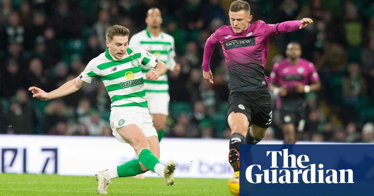 Scottish Premiership: Forrest helps Celtic to win as Rangers keep pace