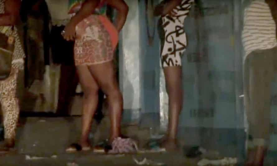 A still from documentary 'Kolonko', about sex workers in Freetown, Sierra Leone.