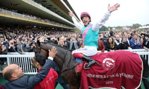 Enable, going for her third Arc, is drawn alongside Aidan O'Brien's Japan for Sunday's showpiece.