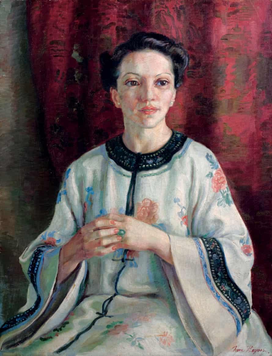 Mme Elink Schuurman (1938) by Nora Heysen