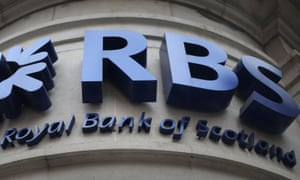 Sinking further into the red: RBS faces more uncertainties including a US settlement over selling mortgage bonds.