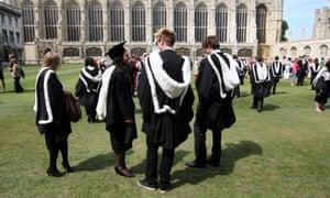 Cambridge University graduates
