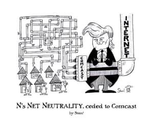 N's Net Neutrality, ceded to Comcast