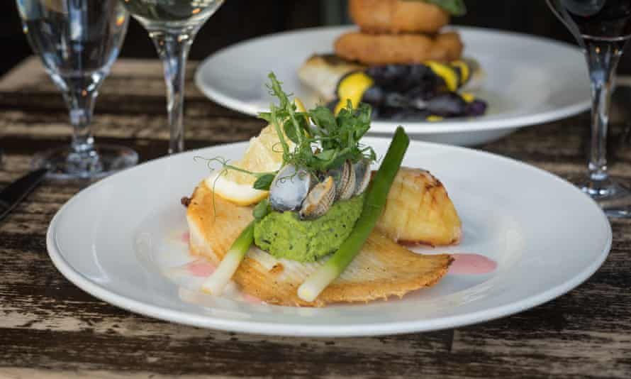 Fish and seafood at The Winding Stair
