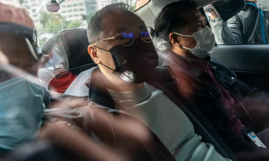 Benny Tai, a legal scholar and co-organiser of the poll, is arrested by police in Hong Kong.
