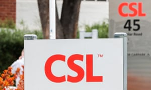 CSL offices and manufacturing plant in Parkville Melbourne, Australia.