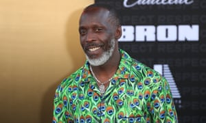 Michael K Williams attends the premiere of MGM's Respect in Los Angeles, August 2021