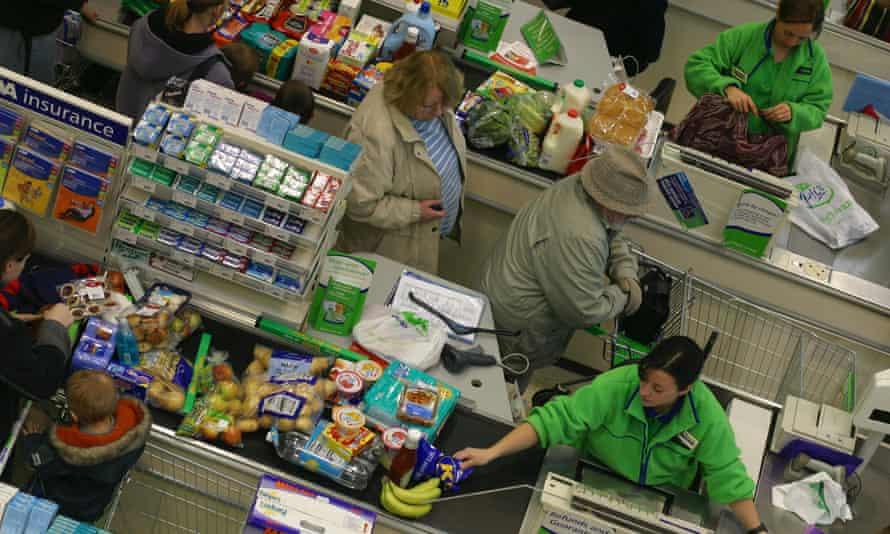 Female cashiers