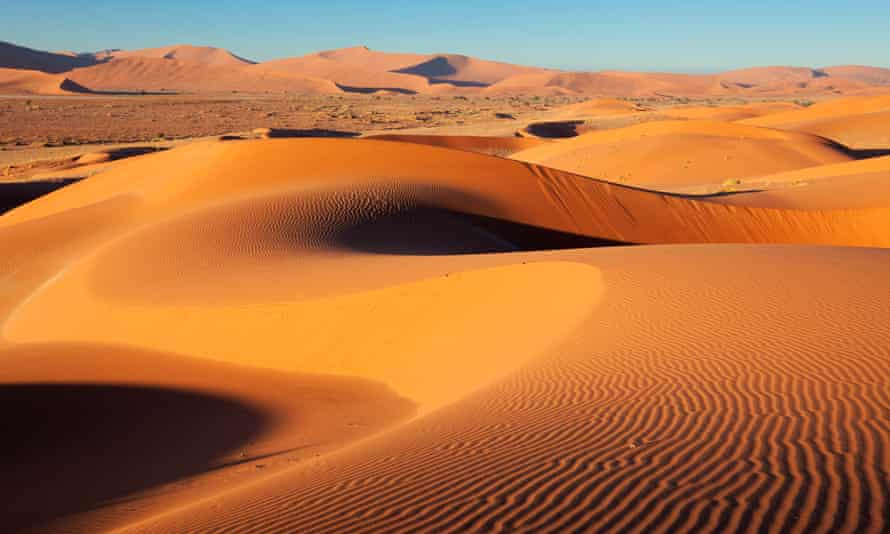 A dune in Sossusvlei.