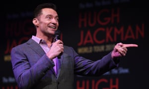 Hugh Jackman poses for a photograph at the announcement of the Australian leg of his The Man. The Music. The Show world tour, in Sydney