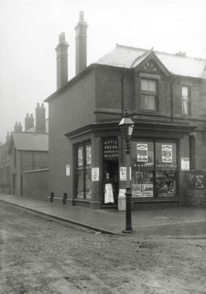 Arthur Bull's corner shop, pictured when almost newly built, no. 78 Cambridge Street. c.1895