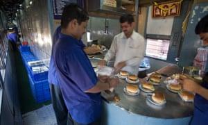 Indian Railways Kitchen