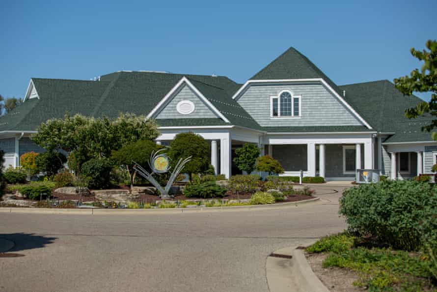 The Harbor Shores golf club is a sign of gentrification around Benton Harbor.