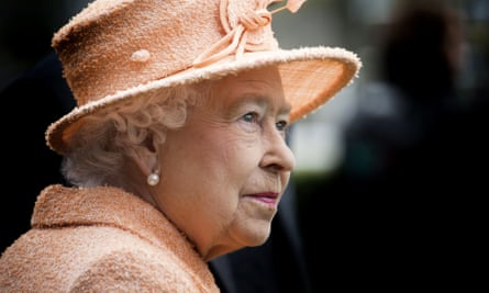 The Queen at Ascot in 2015.