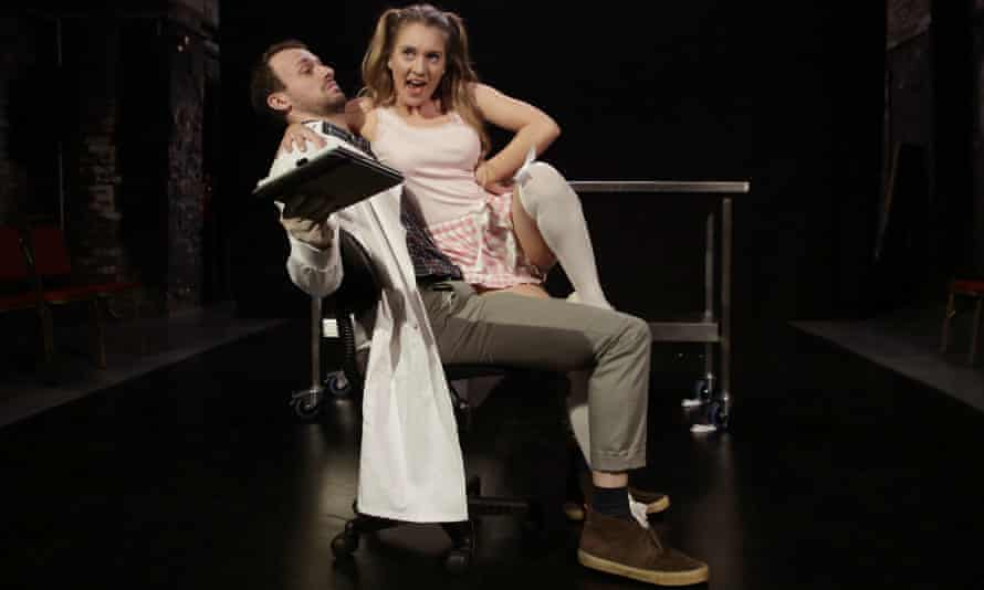 Misogynistic tropes ... Michaela Forbes and Matt Holt in Porn Paradox.