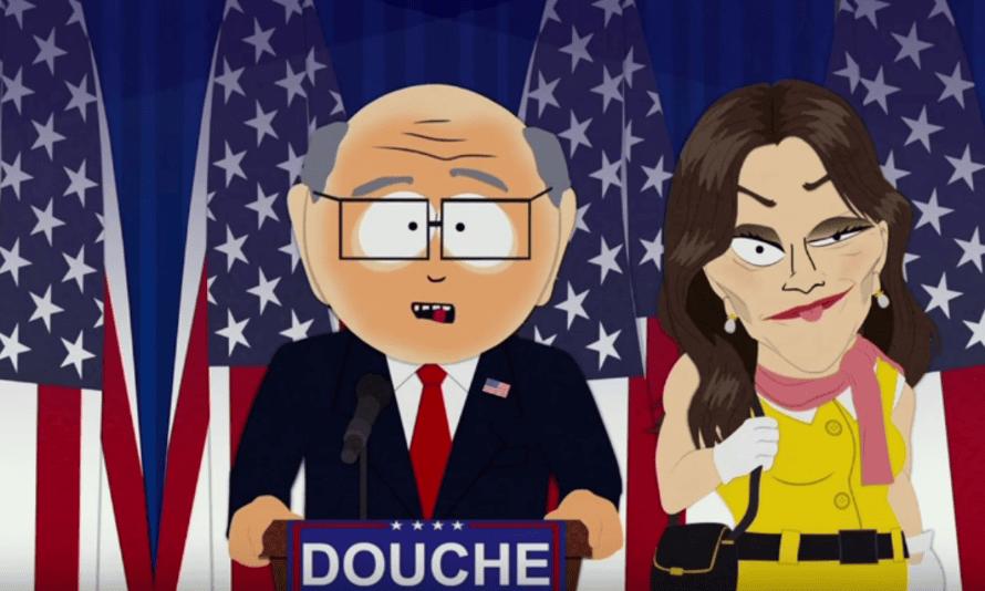 Mr Garrison and Caitlyn Jenner.