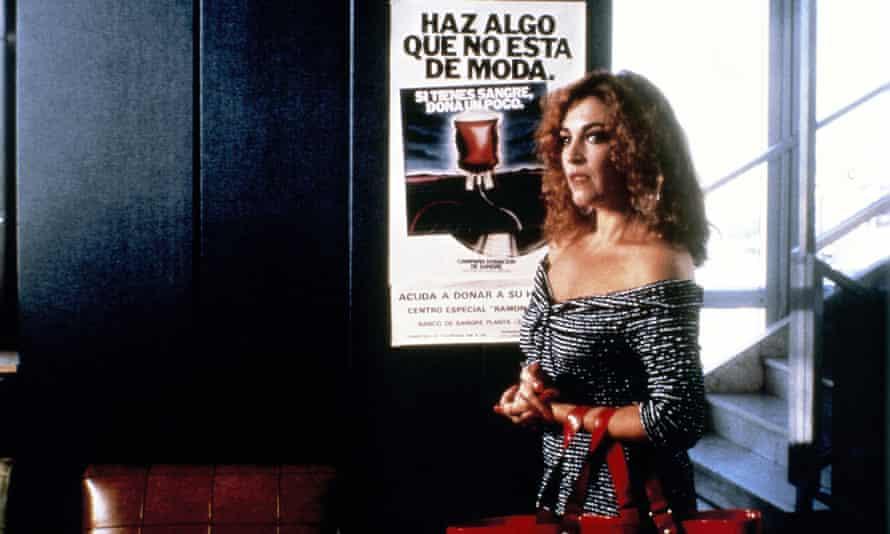 Carmen Maura in Law of Desire.
